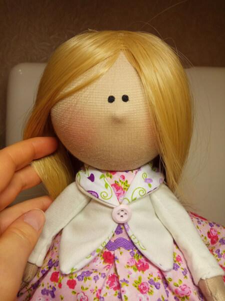 آموزش دوخت عروسک روسی