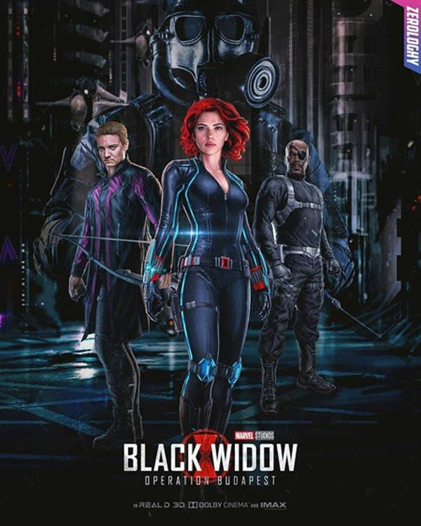 دانلود فیلم Black Widow 2020 بیوه سیاه