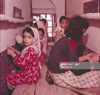 عکس قديمي از دختران قاليباف