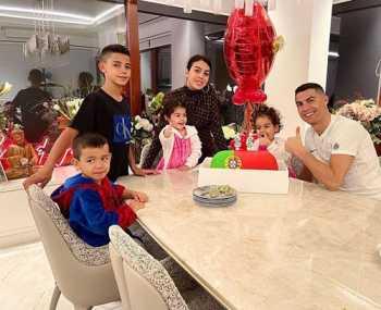 جشن تولد ساده رونالدو فوتباليست معروف