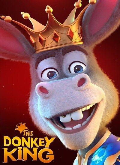 دانلود انیمیشن الاغ شاه ۲۰۲۰ The Donkey Kingدوبله فارسی