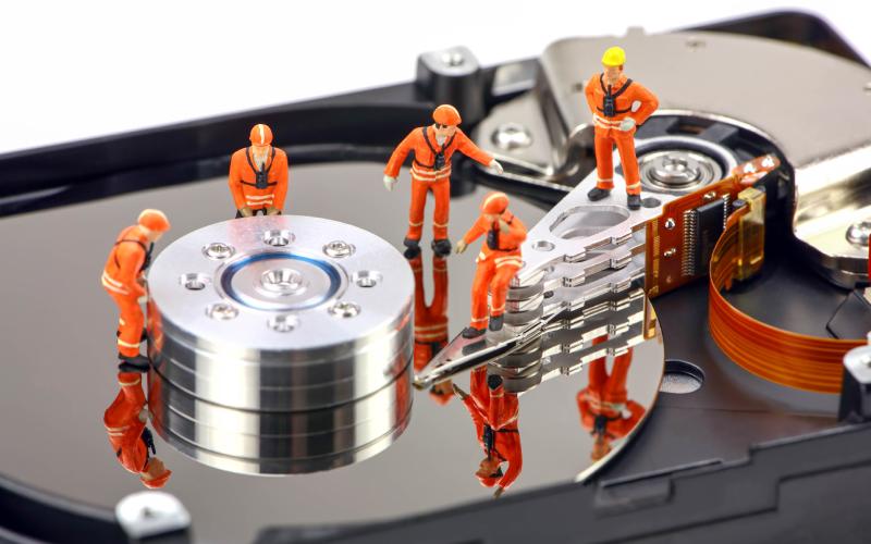 تعمیرات حرفه ای انواع هارد لپتاپ و PC