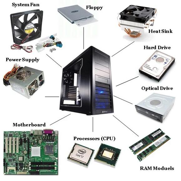 قطعات کامپیوتر