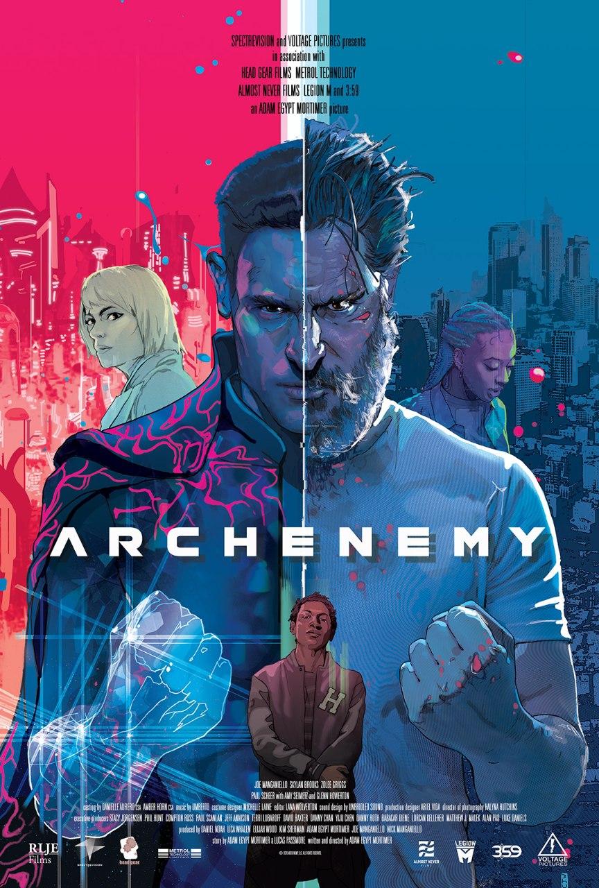 دانلود فیلم اکشن (Archenemy (2020 با دوبله فارسی