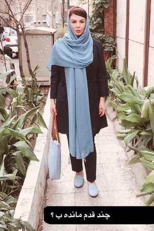 شهره لرستاني لاغر شد / کاهش وزن به سبک شهره لرستاني