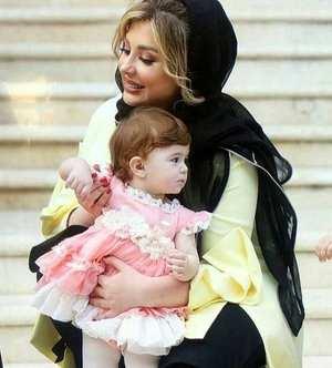 عکس دو نفري نيوشا ضيغمي و دخترش / عکس مادر دختري بازيگر سينما