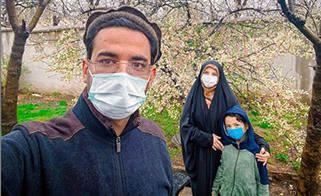 آذري جهرمي با کلاه افغاني پکول