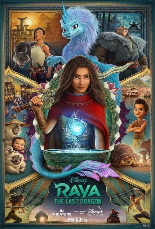 دانلود انیمیشن Raya and the Last Dragon (2021) با دوبله فارسی