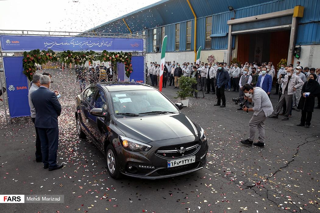 اولین سری از خودرو شاهين سایپا به مشتريان تحویل شد (عکس خودرو شاهین)