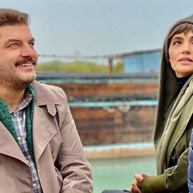 عکسهای جدید سام درخشانی و همسرش و دخترش برکه 1400