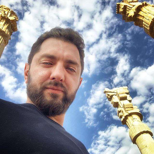 عکسهای جدید بهرام رادان 1400
