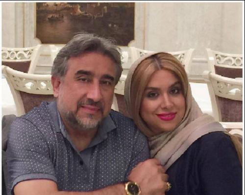 همسر محمود دینی بازیگر
