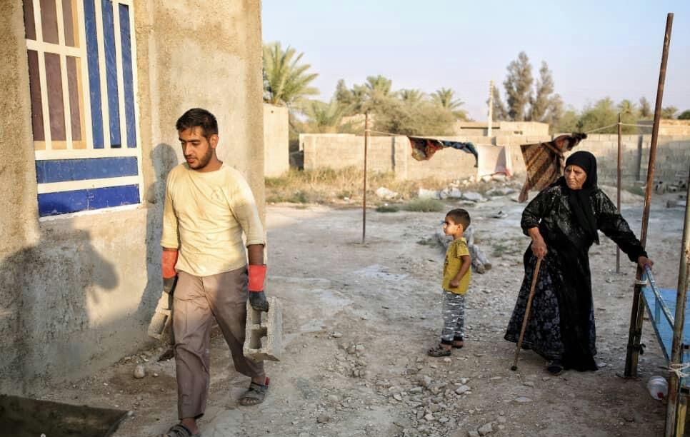 گزارش تصویری شبکه استانی از اردو جهادگران افسران ولایت در روستای رَوَنی بخش ارم دشتستان+فیلم