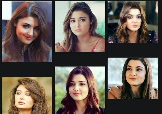 زیباترین بازیگر زن ترکیه 2021