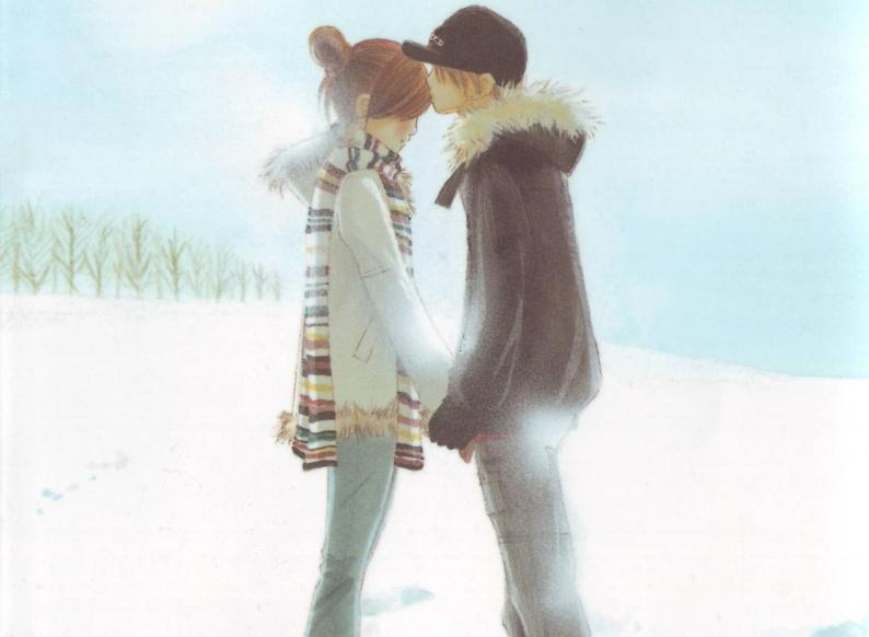 عکس کارتون کره ای عاشقانه