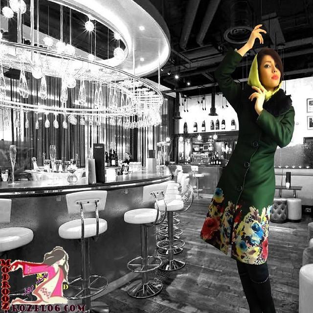 مدل مانتو جدید دخترانه 2015