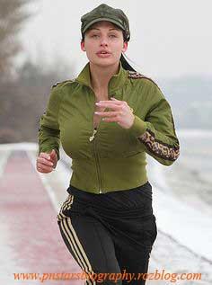 تصاویر آلتا اوشن هنگام ورزش