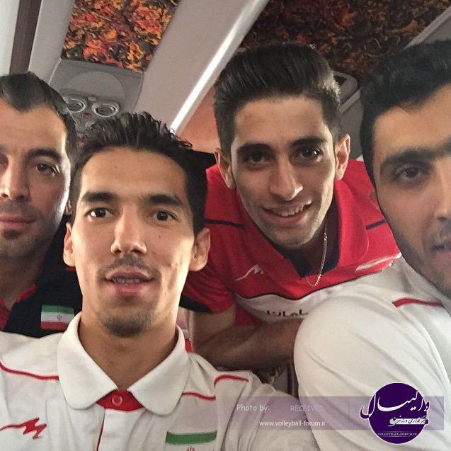 حرکت عجیب ملی پوش والیبال ایران بازتاب جهانی پیدا کرد + عکس