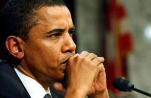 دست دادن اوباما با زن محجبه