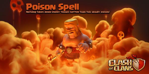 اضافه شدن Dark Spell Factory در ورژن جدید clash of clans