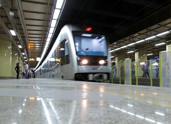 راهاندازی آزمایشی توسعه خط یک قطار شهری مشهد