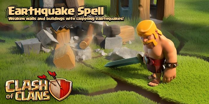 چهارمین نشانه آپدیت جدید بازی : اسپل دارک زمین لرزه Earthquake + ویدئو