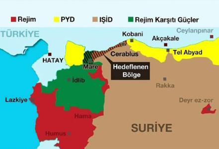 ارتش ترکیه حدفاصل کوبانی تا عفرین را تصرف می کند