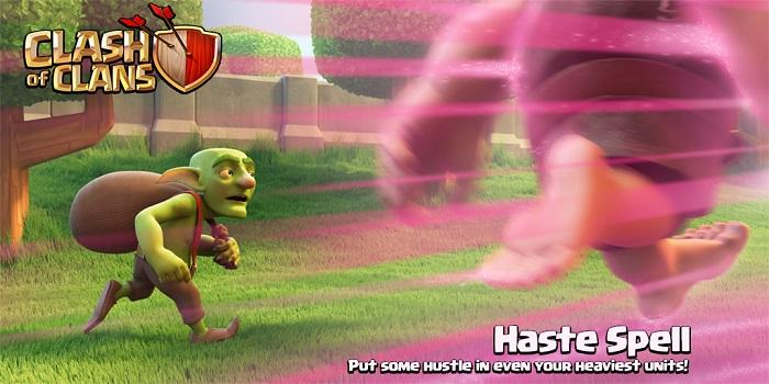 پنجمین نشانه آپدیت جدید بازی: اسپل سرعت Haste Spell + ویدئو مقایسه اسپل سرعت با ریج