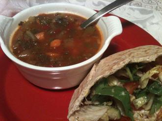 سوپ چربی سوز (رژیمی)