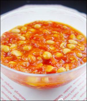 سوپ گوجه فرنگی و سویا