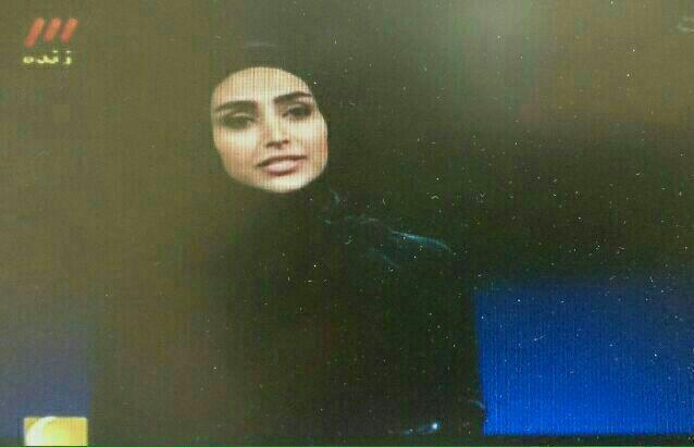 تصاویر الهام عرب مهمان ماه عسل ۹۴