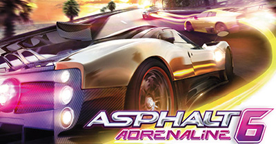 دانلود بازی آسفالت Asphalt 6 Adrenaline برای جاوا