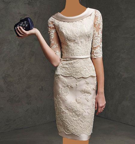 شیک ترین مدل لباس های زیبا با دیزاین گیپور جادوی کلمات