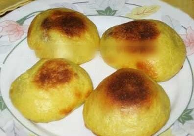 طرز تهیه نان شکم پر با پنیر و گردو ویژه افطار