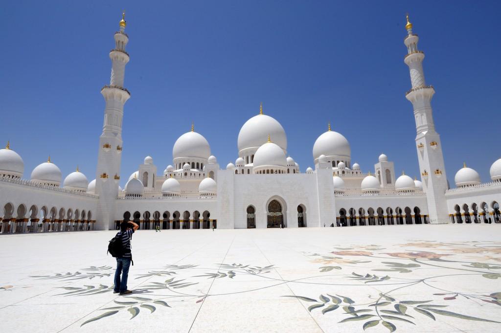 تصویر مسجد ابوظبی