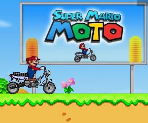 بازی آنلاین سوپر ماریو موتوری Super Maria Moto