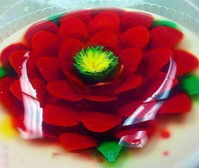 ژله تزریقی گل رز