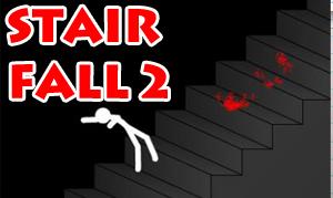 بازی آنلاین سقوط از پله Stair Fall 2