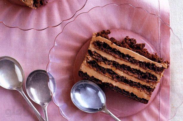 طرز تهیه تیرامیسوی شکلاتی