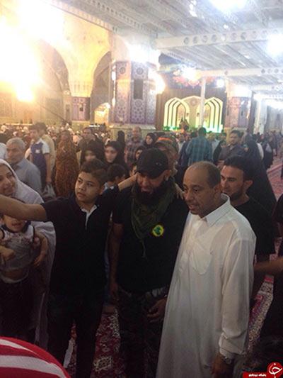 مامور مرگ داعشی ها در مشهد /عکس