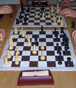 سیامی یا شطرنج تبادل