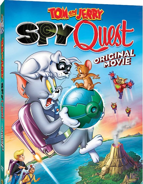 دانلود انیمیشن جدید تام و جری Tom and Jerry: Spy Quest 2015