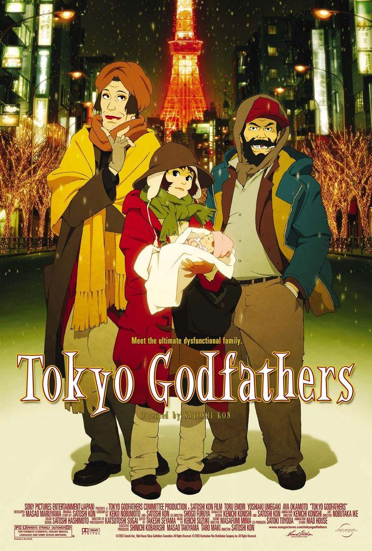 دانلود انیمیشن  Tokyo Godfathers