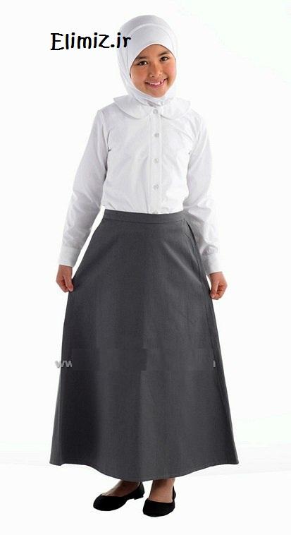 دختر با دامن بلند