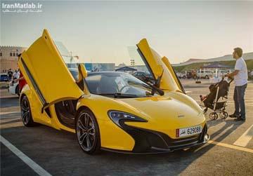 خودروهای لوکس در خیابان های قطر (عکس)
