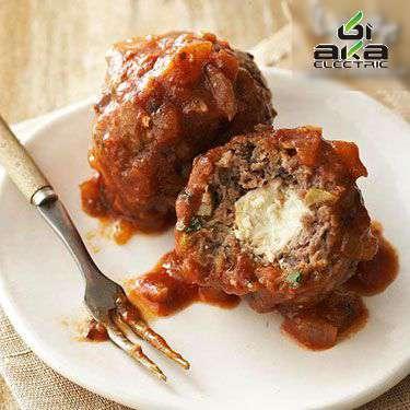 گوشت قلقلی مغزدار یونانی