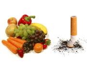 مصرف میوه و سبزیجات به ترک سیگار کمک می کند