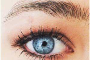 آموزش تصویری آرایش چشم قهوه ای تیره