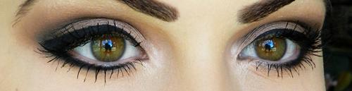 آرایش تیره چشم