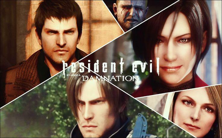 دانلود انیمیشن Resident Evil: Damnation